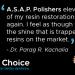Clinician's Choice® ASAP® All Surface Access Polishers: Testimonial of Dr. Parag R. Kachalia