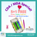 CDA/ MDA Special 5+1 FREE! Scalers also available in stainless steel metal handle. For more information, check our website: www.blueandgreeninc.com