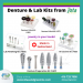 Laboratory burs from Jota with high performancce for any laboratory jobs from denture to porcelain, acrylic and zircon. The Jota diamond stone and zircon laboratory instrument are heatless, therefore you will not have any crack in your expensive porcelain ceramic or zircon job.